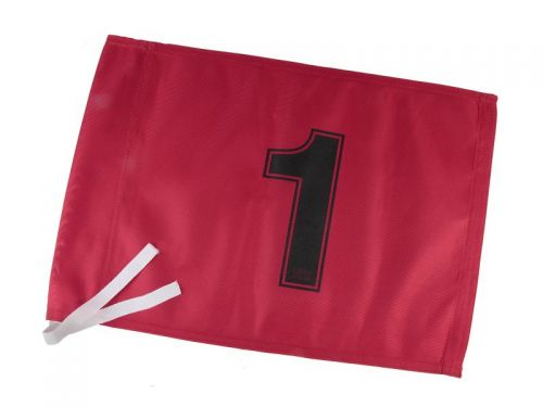 Tie on Golf Flags Numbered
